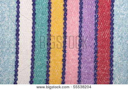 striped terry cloth