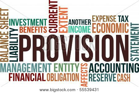 Provision - Word Cloud.eps