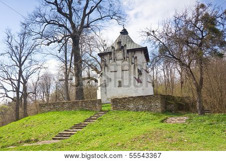 An Old Orthodox Church, Bieszczady Mountains, South Eastern Pola