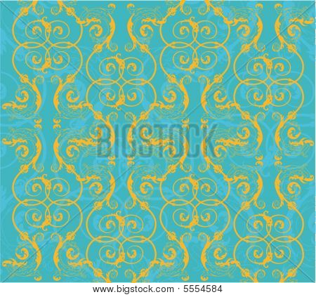 Floral Background. Beautiful Vector Illustration.eps