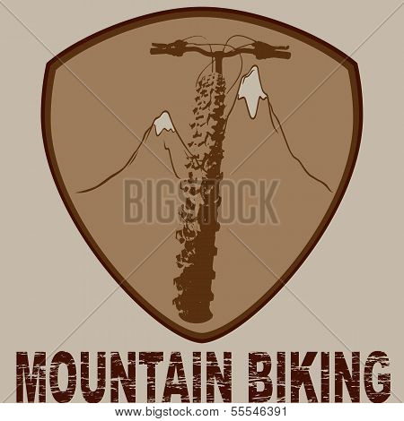 Badge biking design