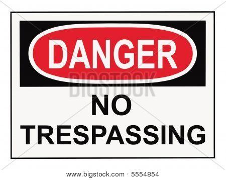 Danger Warning Sign