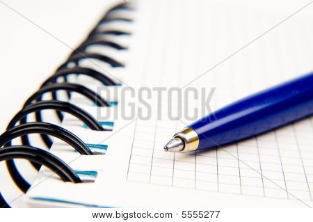 Notebook And A Pen