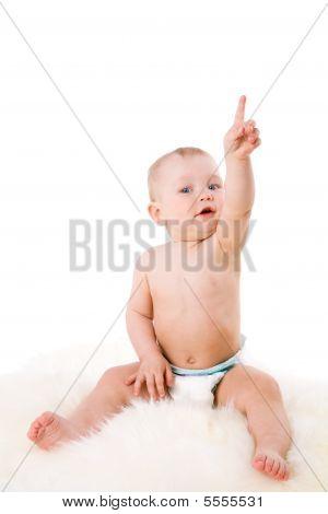 Bebê para cima