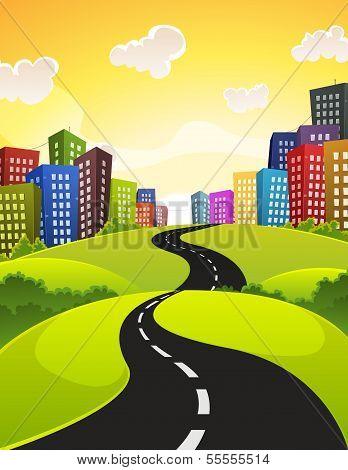 Stadt-Straße