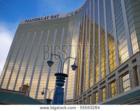 The Mandalay Bay Hotel and Casino in Las Vegas, NV