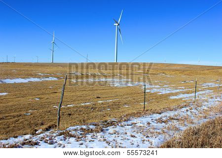 Giant Wind Turbines