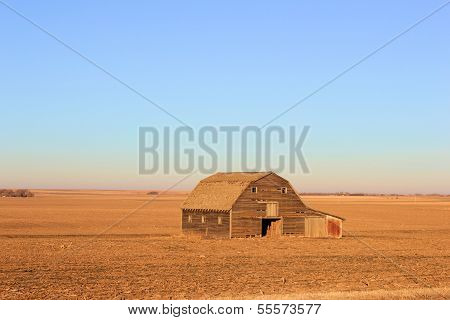 Vast Kansas Prarie