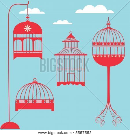 Conjunto de gaiola