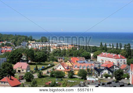 Coast Line At The Baltic Sea