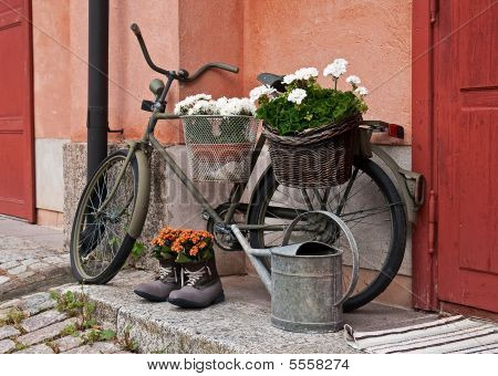 Old Military Bicycle