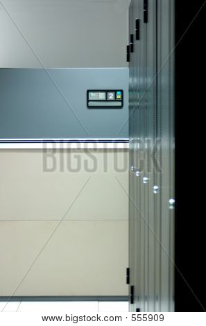 Datacenter-Interieur