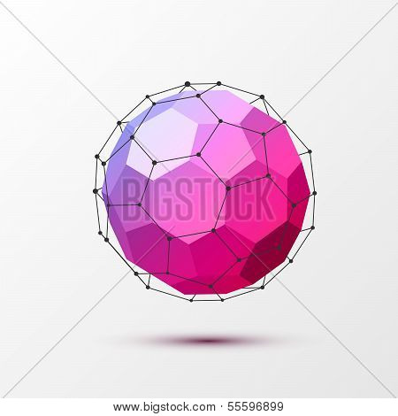 Geometrical background with black lines.