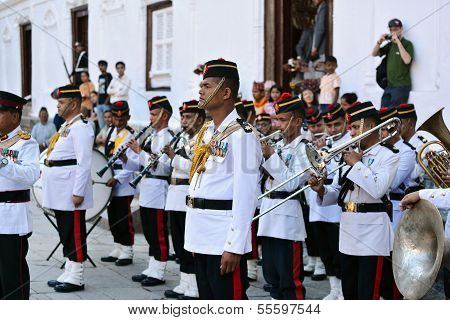 The Military Orchestra Of Nepal