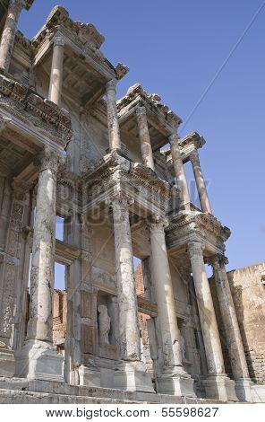 Celsus Library In Ephesus