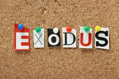 The word Exodus