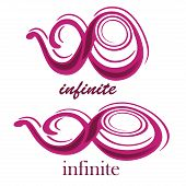 picture of mobius  - a pink purple infinity symbol with text in a white background - JPG
