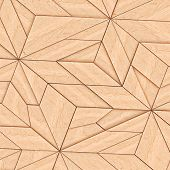 pic of tangram  - Abstract Wooden Striped Textured Of Tangram Parquet - JPG