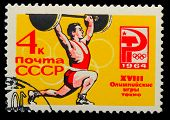 picture of olympic-games  - USSR  - JPG