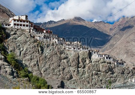 Buddhist Heritage, Diskit Monastery Temple. India