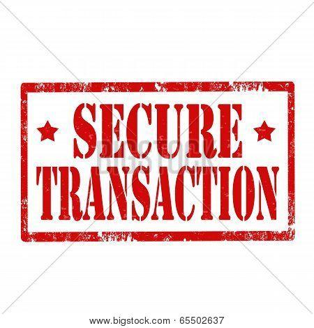 Secure Transaction-stamp