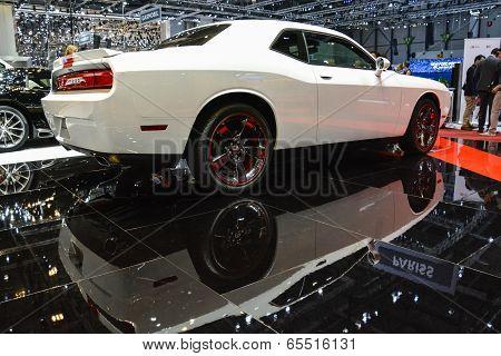 Dodge Challenger At The Geneva Motor Show