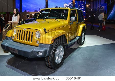 Jeep Wrangler At The Geneva Motor Show