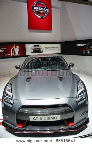 Nissan Gt-r Nismo At The Geneva Motor Show