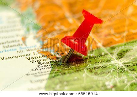 Seattle Wa City Pin On The Map
