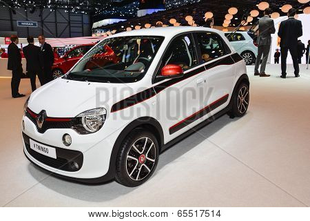 Renault Twingo At The Geneva Motor Show