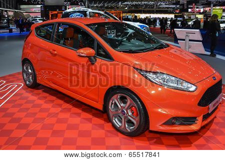 Ford Fiesta St At The Geneva Motor Show