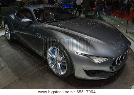 Maserati Alfieri Concept At The Geneva Motor Show