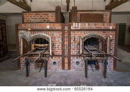 Dachau crematoriums