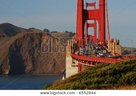 The Golden Gate Bridge In San Francisco, Usa