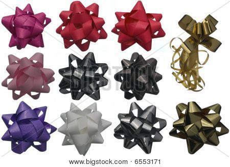 Set Of Of Gift Bows