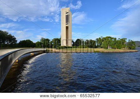 Bridge to the Carillon Canberra