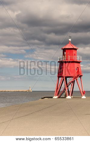 South Shields Groyne Lighthouse