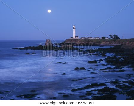 Pigeon Point lighthouse - San Mateo County, Califnornia