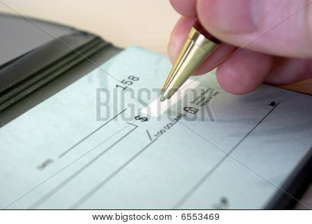 Writting Cheque