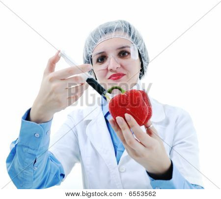 Doctor With Red Papper