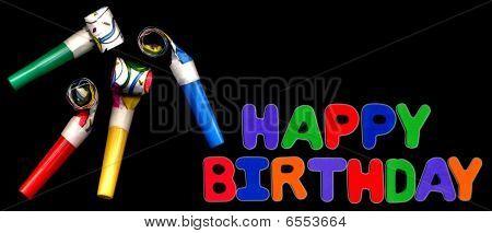 Happy Birthday  Whistles