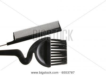 Hairbrush And Brush