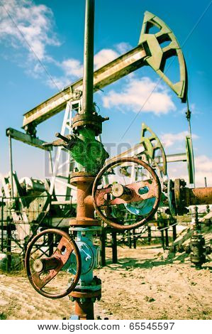 Oilwell And Pump Jack.