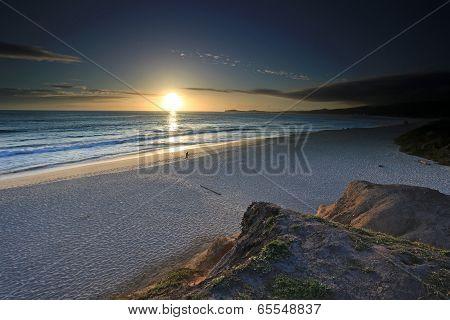 Sunset over Half Moon Bay