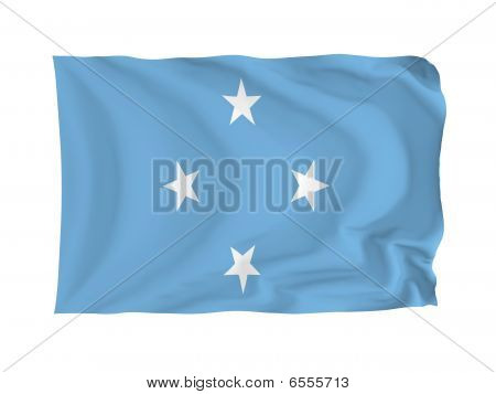 Flag Of Federal States Of Micronesia