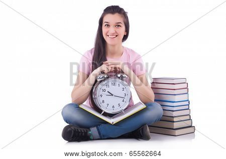 Student failing to meet deadlines for her studies