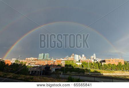 Double Rainbow Over Denver