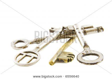 Pile Of Old Keys