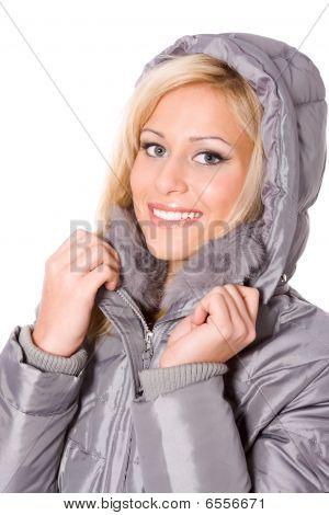 Woman In Hood