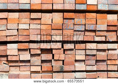Texture Stack Of Lumber Boards